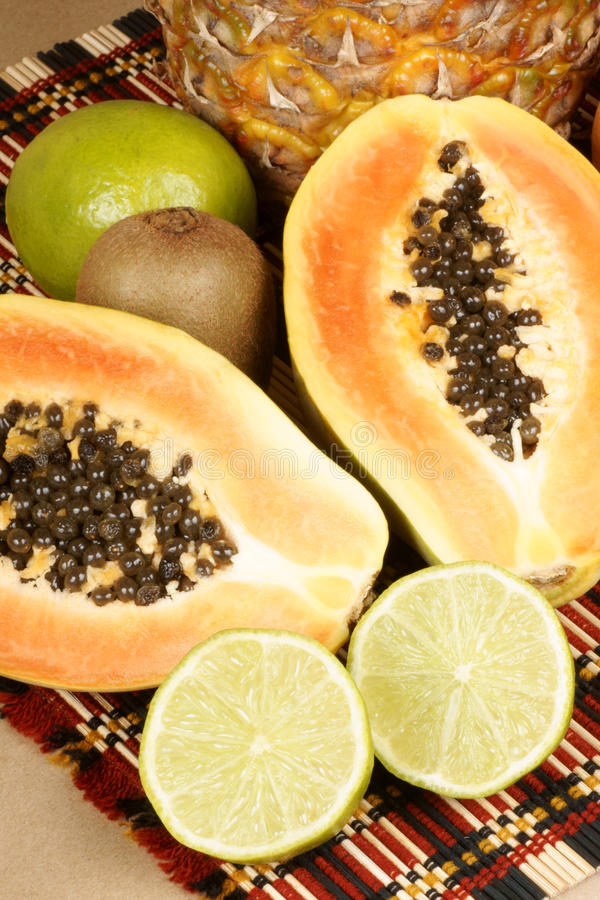 tropikalna świeża owoc fotografia stock