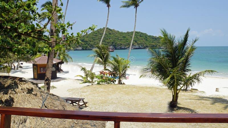 tropikalna wua ta podołka wyspa w Thailand zdjęcia stock