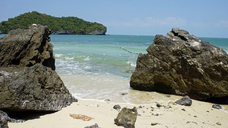 tropikalna wua ta podołka wyspa w Thailand obrazy stock
