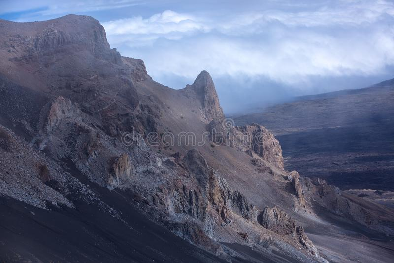 Tropikalne góry w Hawaje zdjęcia royalty free