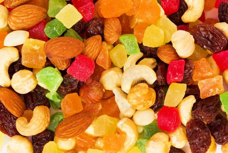 tropikalne owoc wysuszone dokrętki zdjęcia royalty free