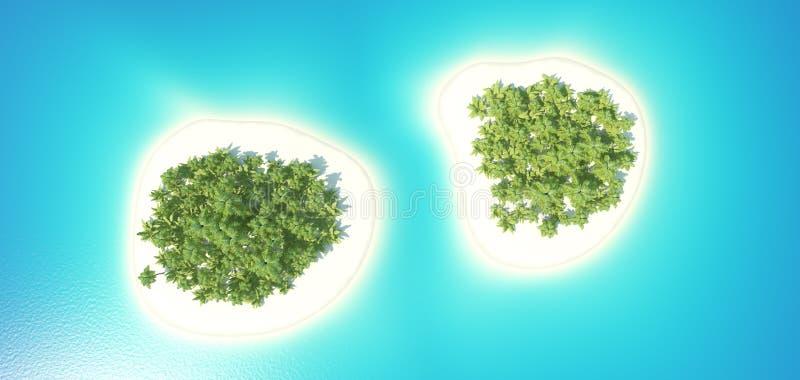 tropikalne wyspy obraz stock