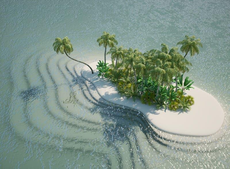 tropikalne wyspy zdjęcia stock