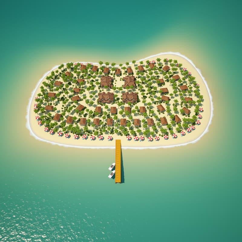 tropikalne wyspy obraz royalty free