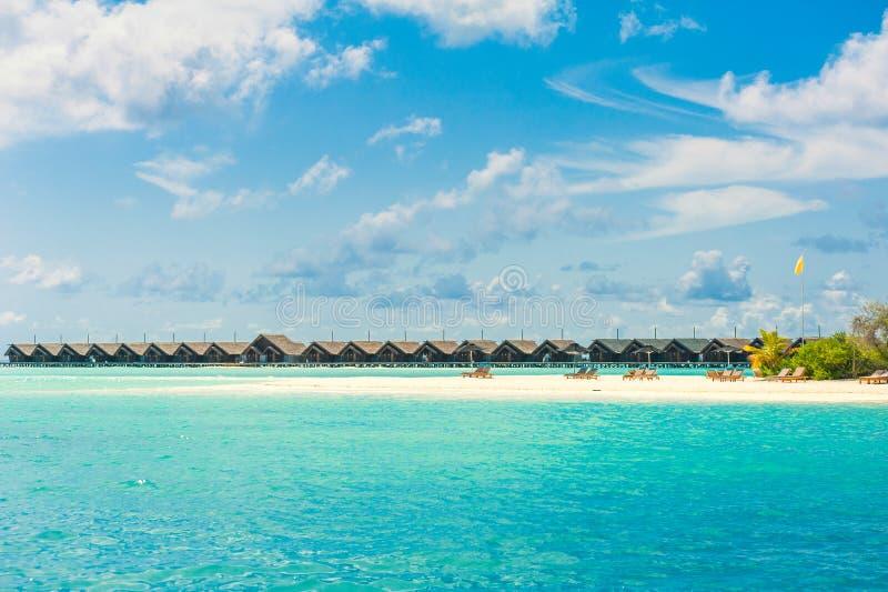 Tropikalnej wyspy piękny krajobraz zdjęcia stock