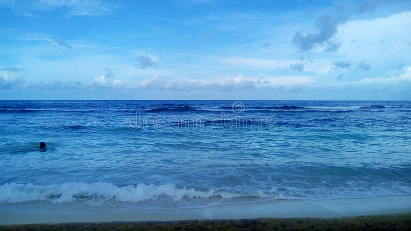 Tropikalny Brzegowy widok obrazy stock