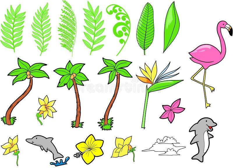 tropikalny epste wektora ilustracji
