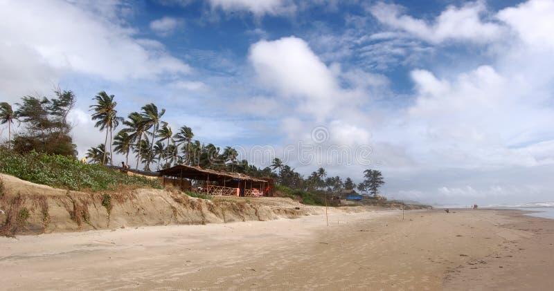 tropikalny goa plażowy mandrem zdjęcia royalty free