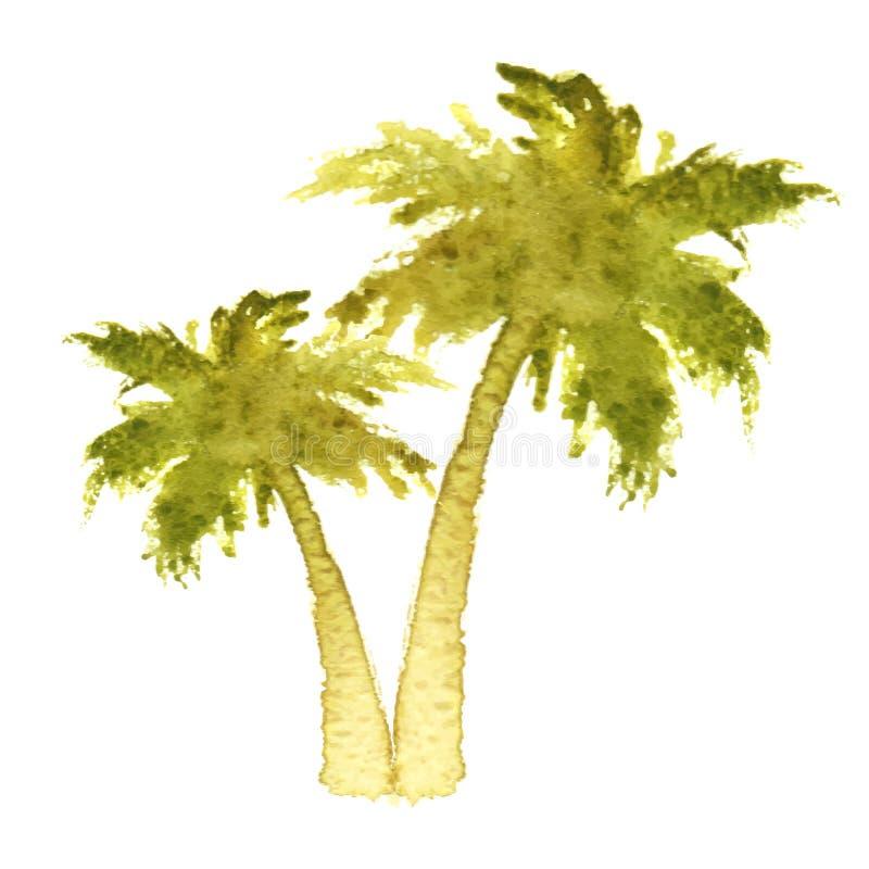 tropikalny krajobrazu ilustracja wektor
