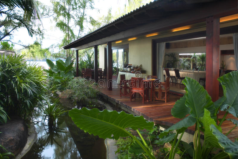 tropikalny park fotografia stock