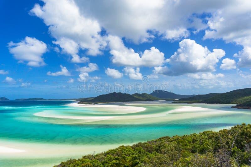 Tropikalny plażowy raju tło turkusowa błękitne wody i plaża fotografia stock