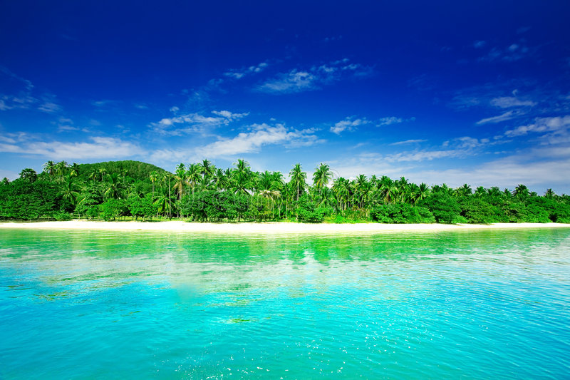 tropikalny raj. zdjęcia royalty free