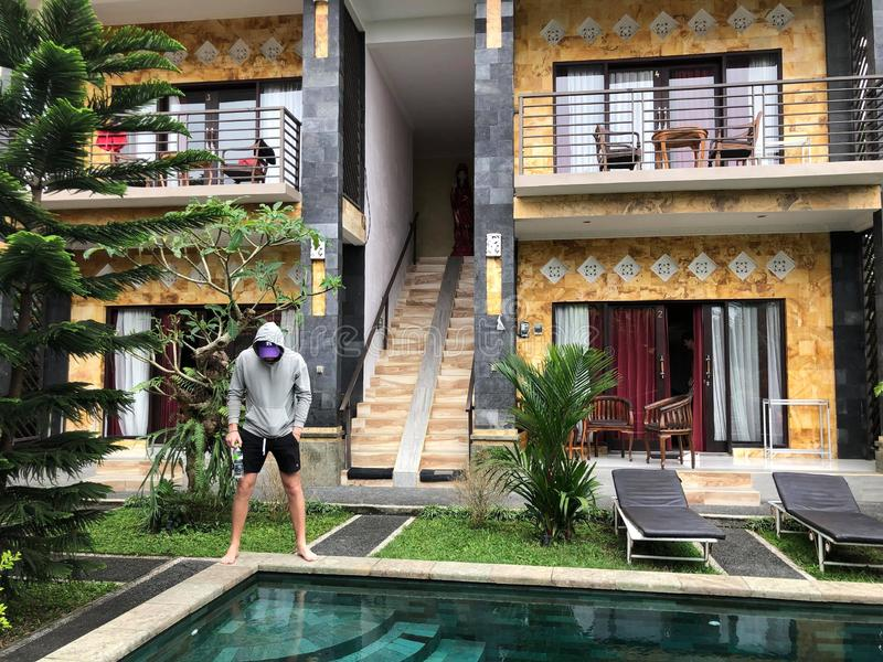 tropikalny rano zdjęcia stock