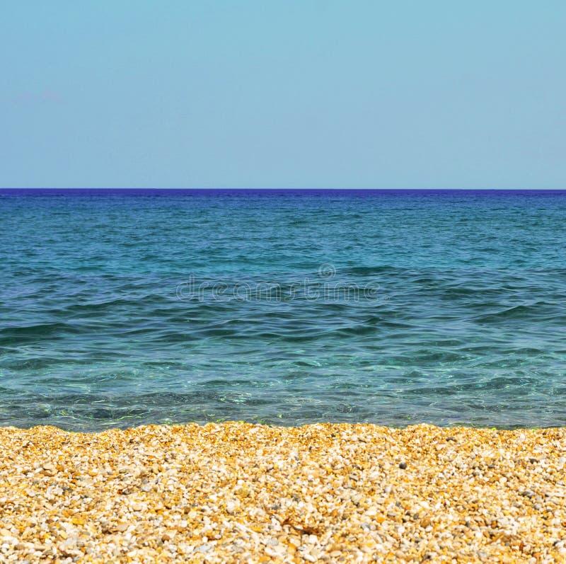 tropikalny t?o piasek pla?owy idylliczny obraz stock