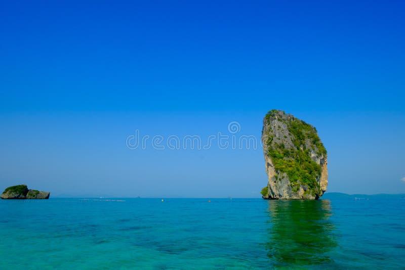 Tropikalny urlopowy wakacje plaży pojęcie fotografia stock