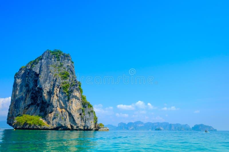 Tropikalny urlopowy wakacje plaży pojęcie zdjęcia stock
