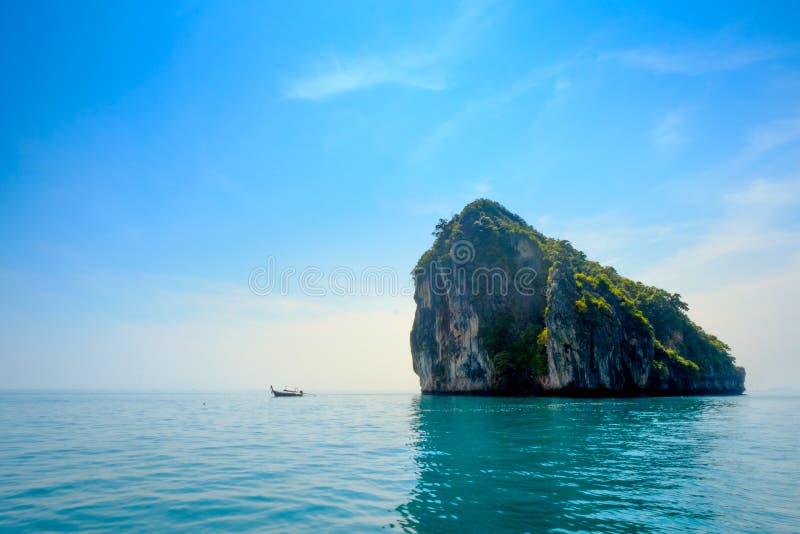 Tropikalny urlopowy wakacje plaży pojęcie zdjęcie royalty free
