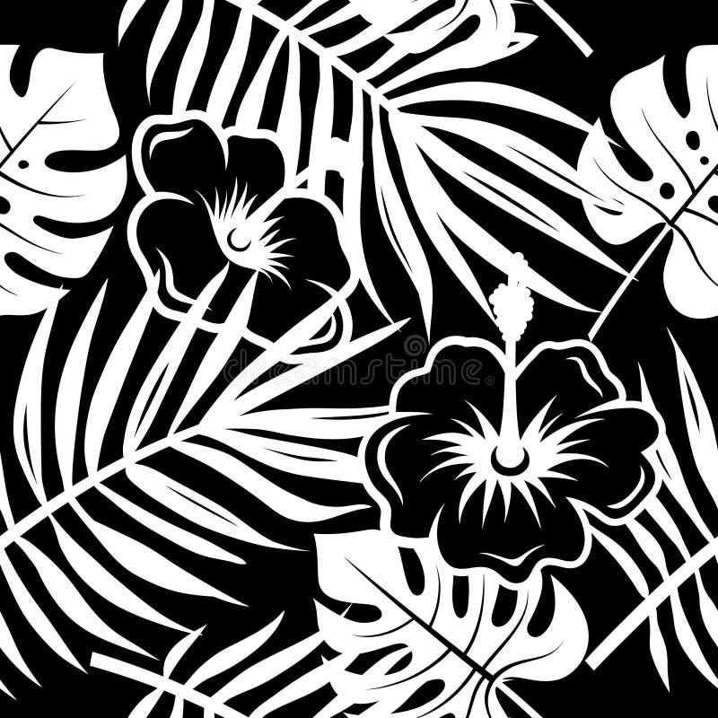 Tropikalny wzór 003 royalty ilustracja