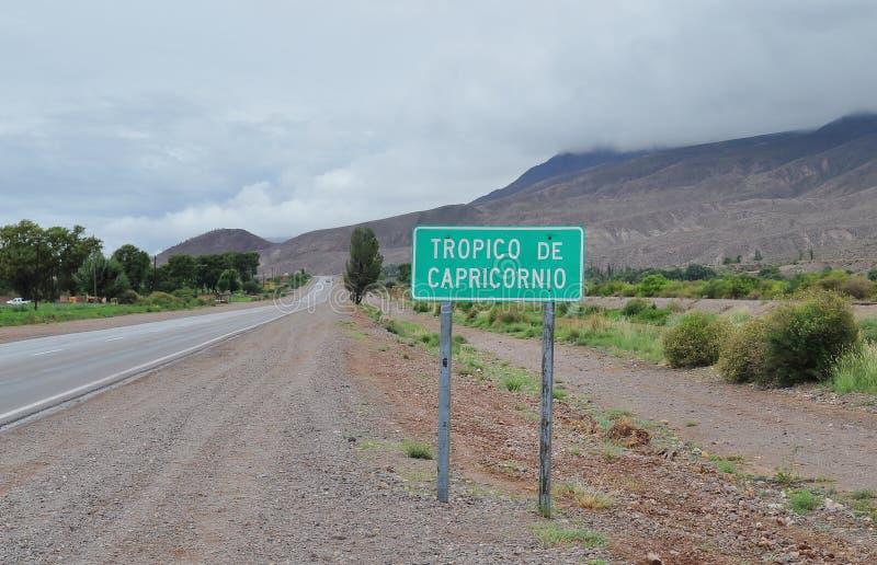 Tropique de Capricorne image libre de droits