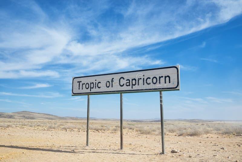 Tropique de Capricorne images stock