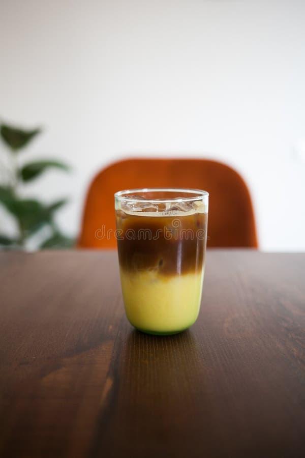 Tropique froid de café photos stock