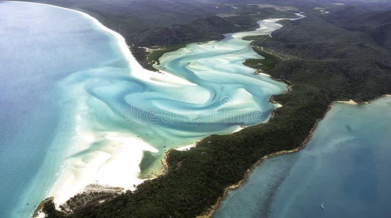 Tropisch Australisch paradijs stock fotografie