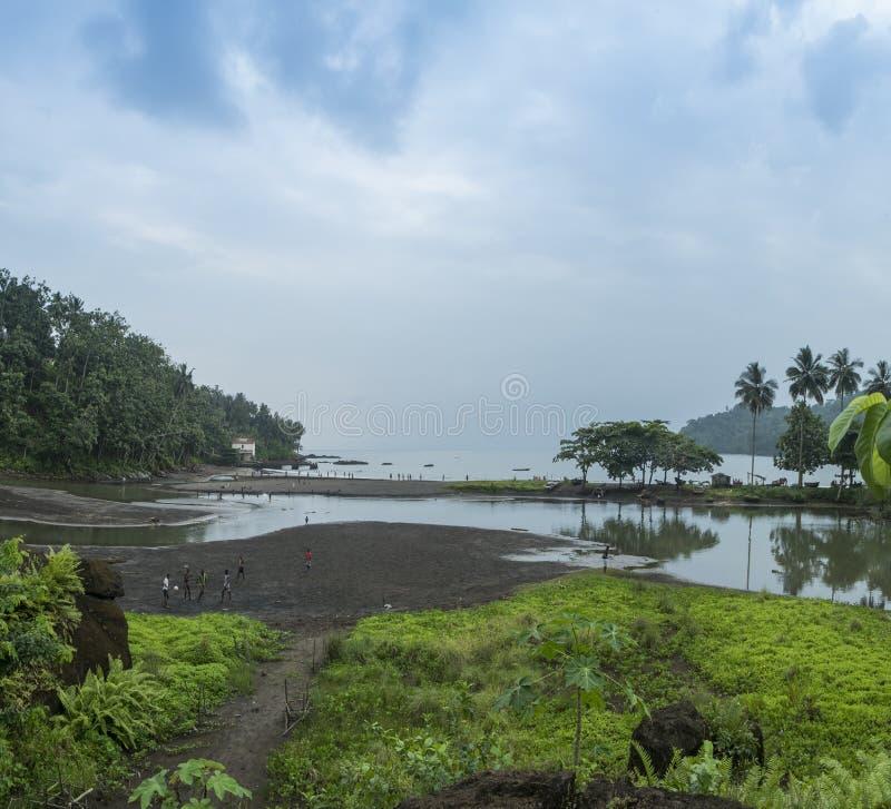 Tropisch Eiland Sao Tomé stock afbeelding