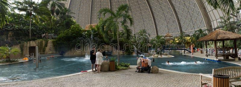 Tropisch Eilandenpanorama stock foto's