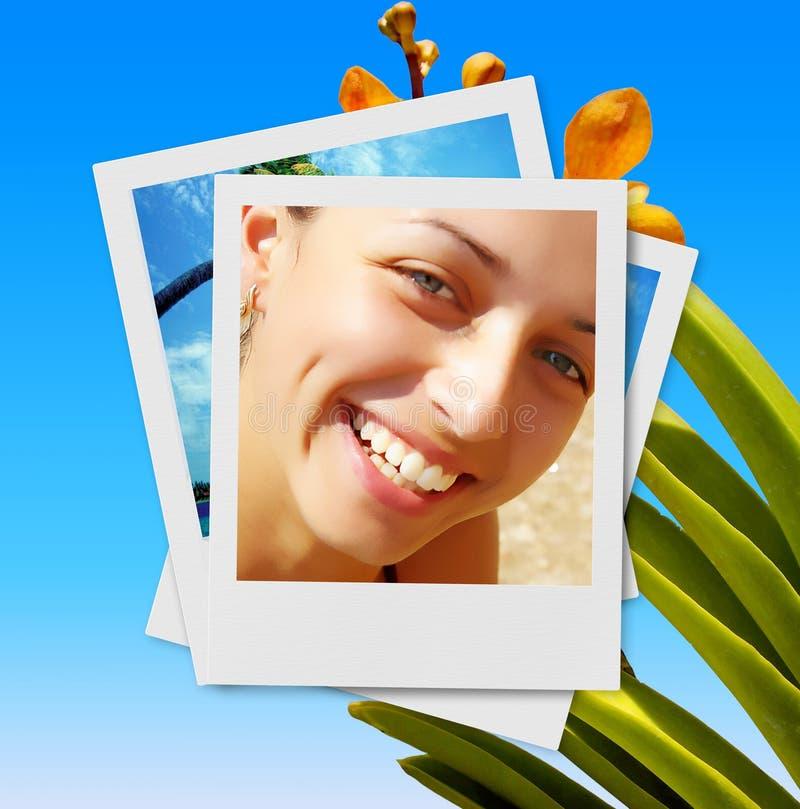Tropisch geheugen royalty-vrije stock foto