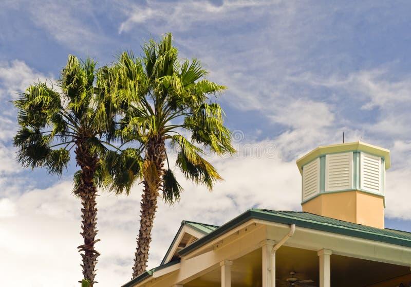 Tropisch huis   royalty-vrije stock afbeeldingen