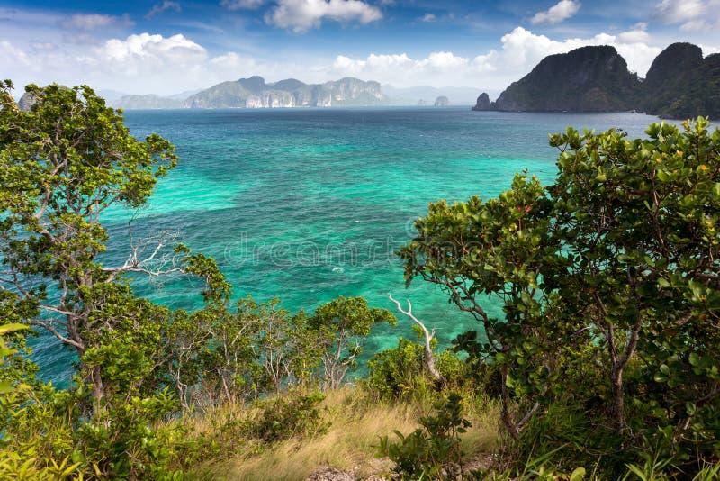 Download Tropisch Overzees Landschap Stock Afbeelding - Afbeelding bestaande uit overzees, paradijs: 39100779