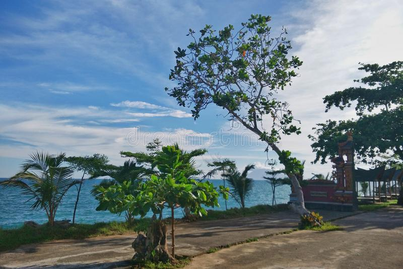 Tropisch paradijsstrand in Indonesi? stock fotografie