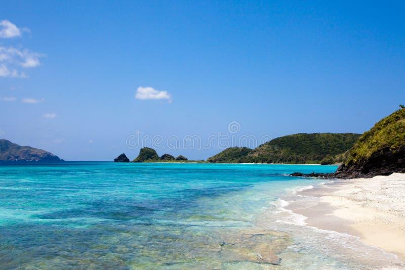 Tropisch paradijsstrand van Okinawa royalty-vrije stock foto