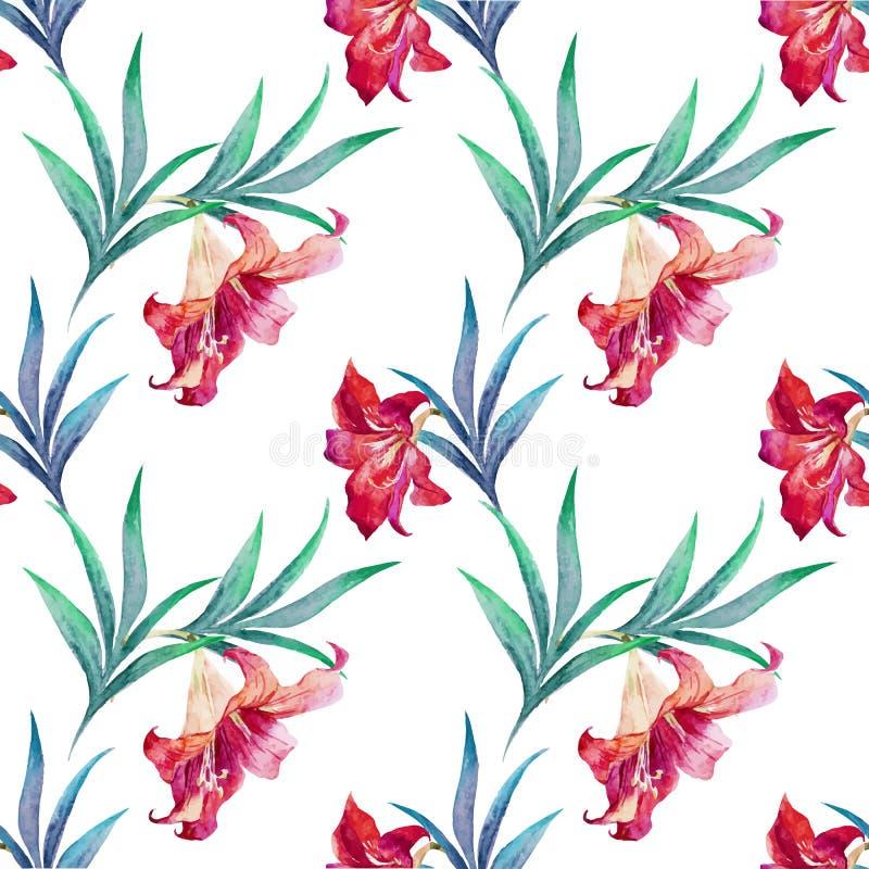 Tropisch patroon vector illustratie