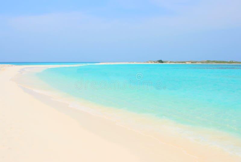 Tropisch strand, Venezuela royalty-vrije stock fotografie