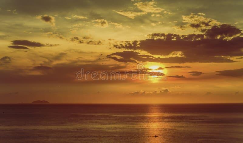 Tropisch Thailand, Jomtien-strand stock afbeelding