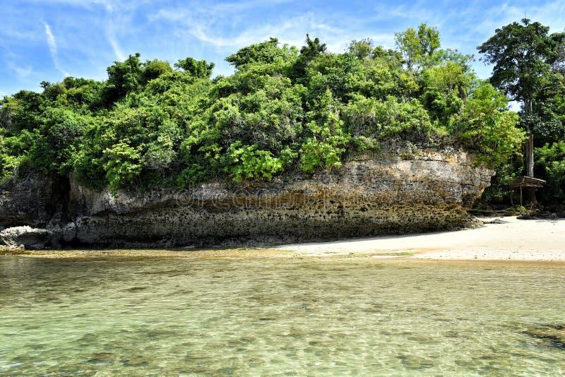 Tropische baai royalty-vrije stock foto
