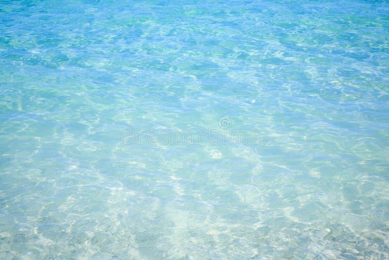 Tropische Blauwe Oceaan stock foto