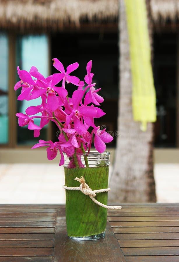 Tropische bloemen royalty-vrije stock afbeeldingen