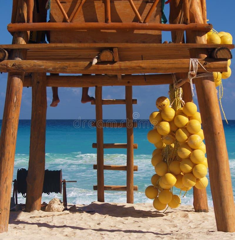Tropische Cancun bamboelifegua stock fotografie