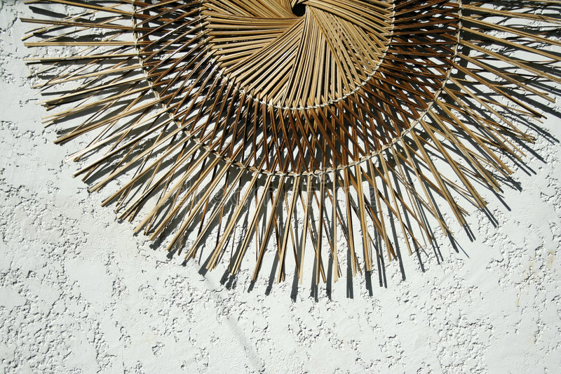 Tropische Dekoration stockbild