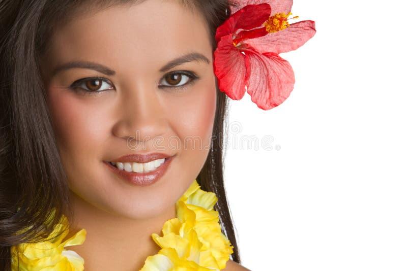 Tropische Frau lizenzfreie stockfotos