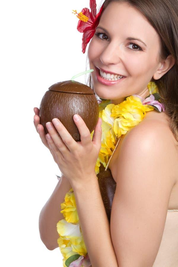 Tropische Frau lizenzfreie stockfotografie