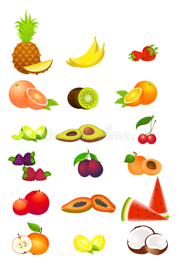 Tropische Frucht lizenzfreie abbildung