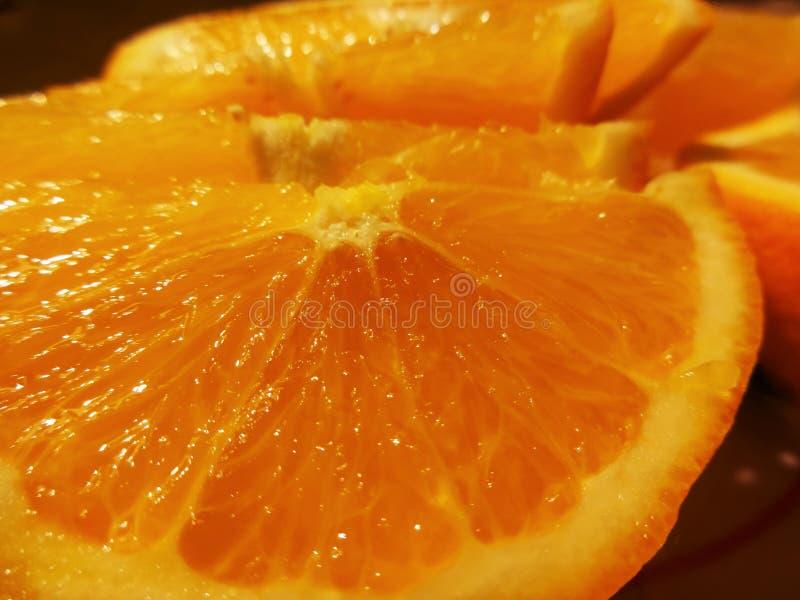 Tropische Frucht: Orange stockfotografie