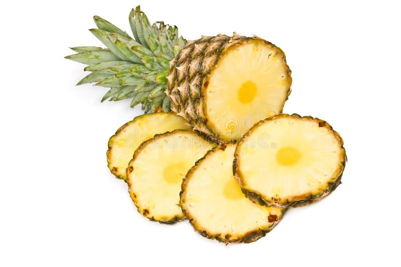 Tropische fruitananas royalty-vrije stock foto