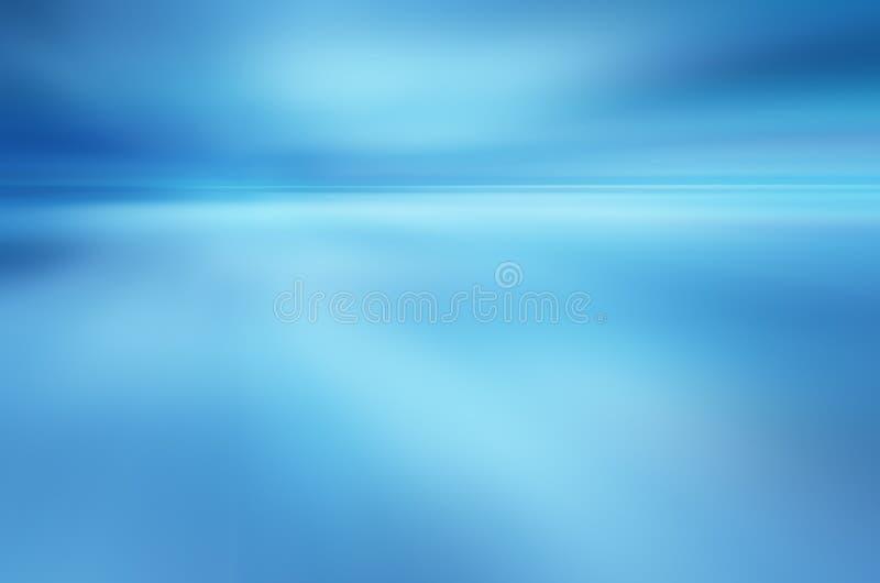 Tropische horizon abstracte achtergrond stock illustratie