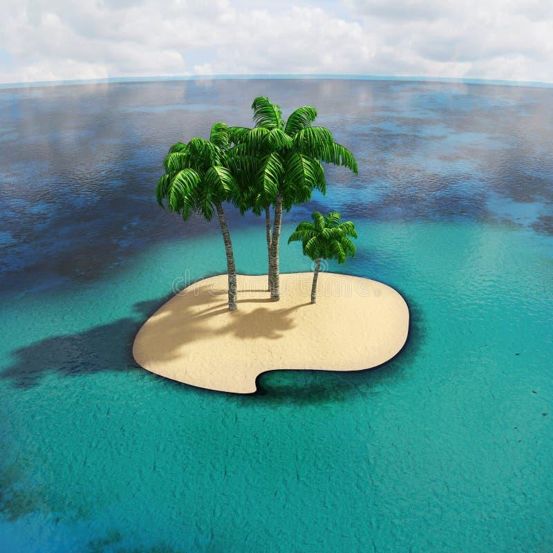 Tropische Inseln lizenzfreie stockfotos
