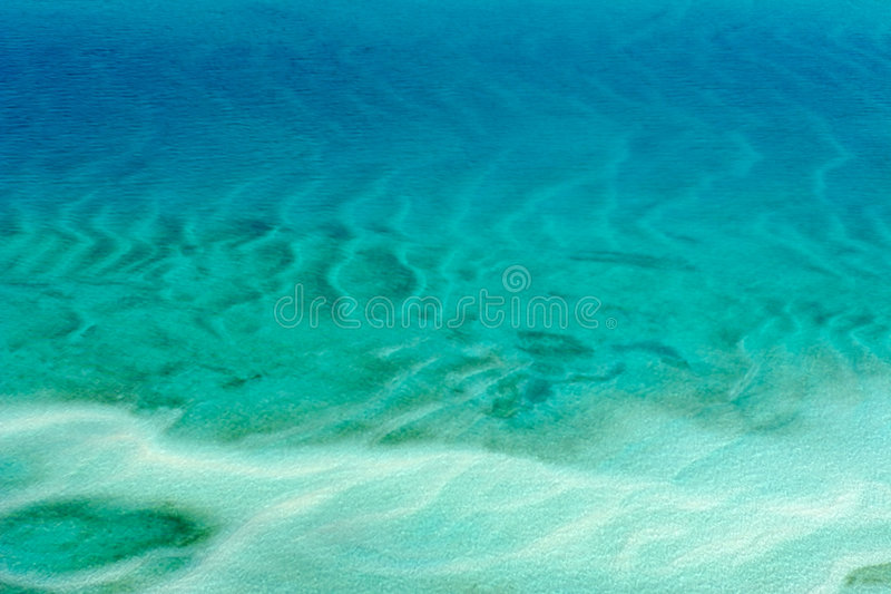 Tropische kust royalty-vrije stock afbeelding