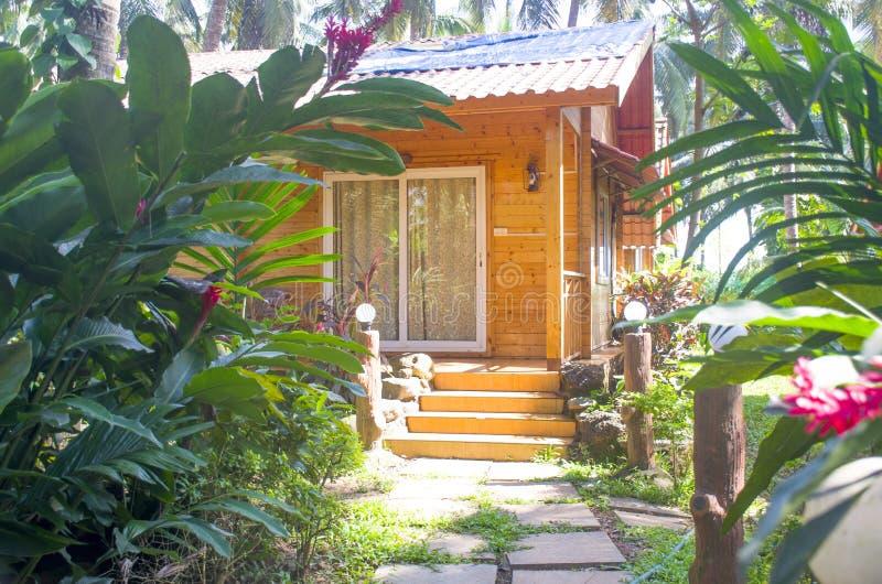 Tropische landschapsstad Panjim in India-Azië stock afbeeldingen
